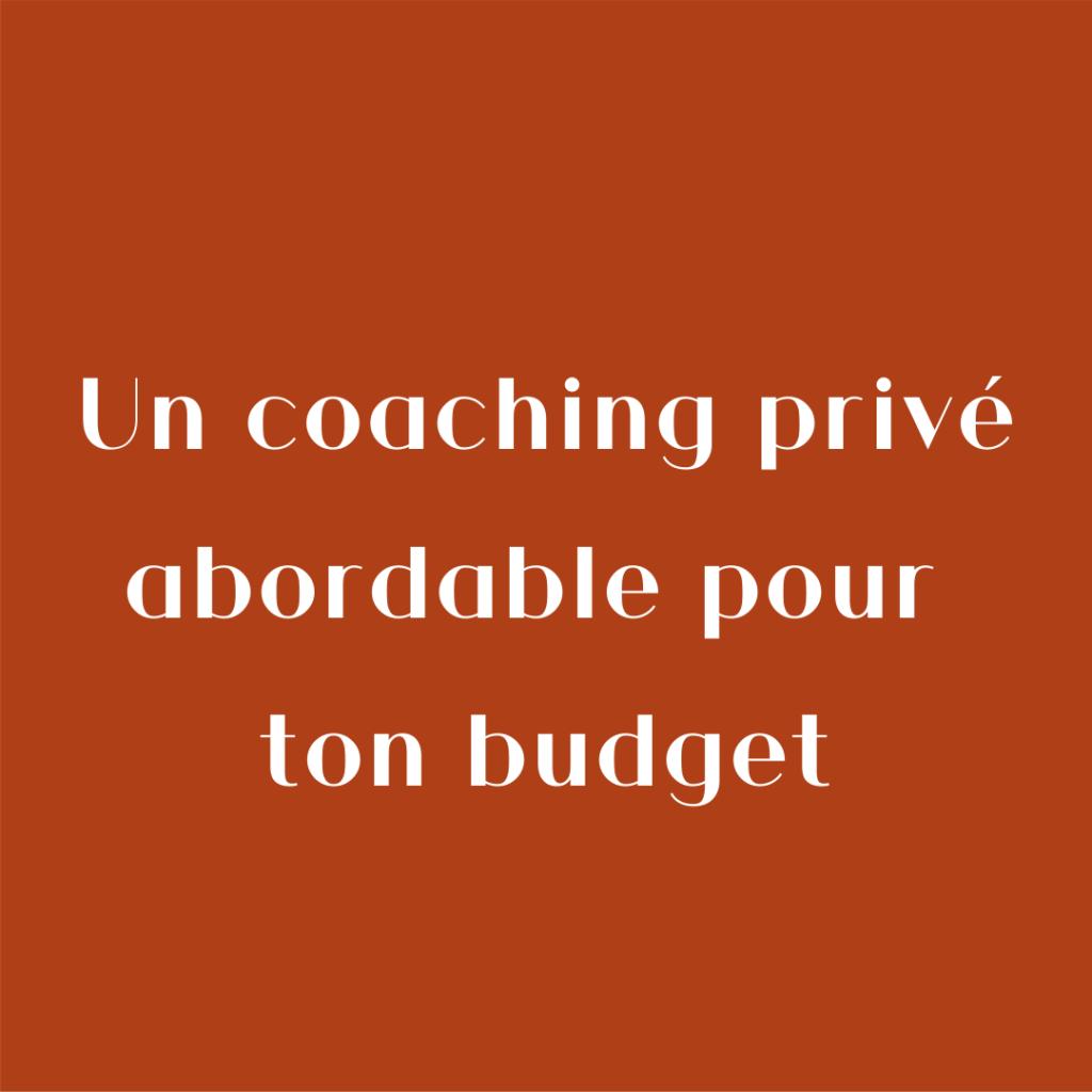 Ma Marque, Ma Com' c'est un coaching privé abordable pour ton budget