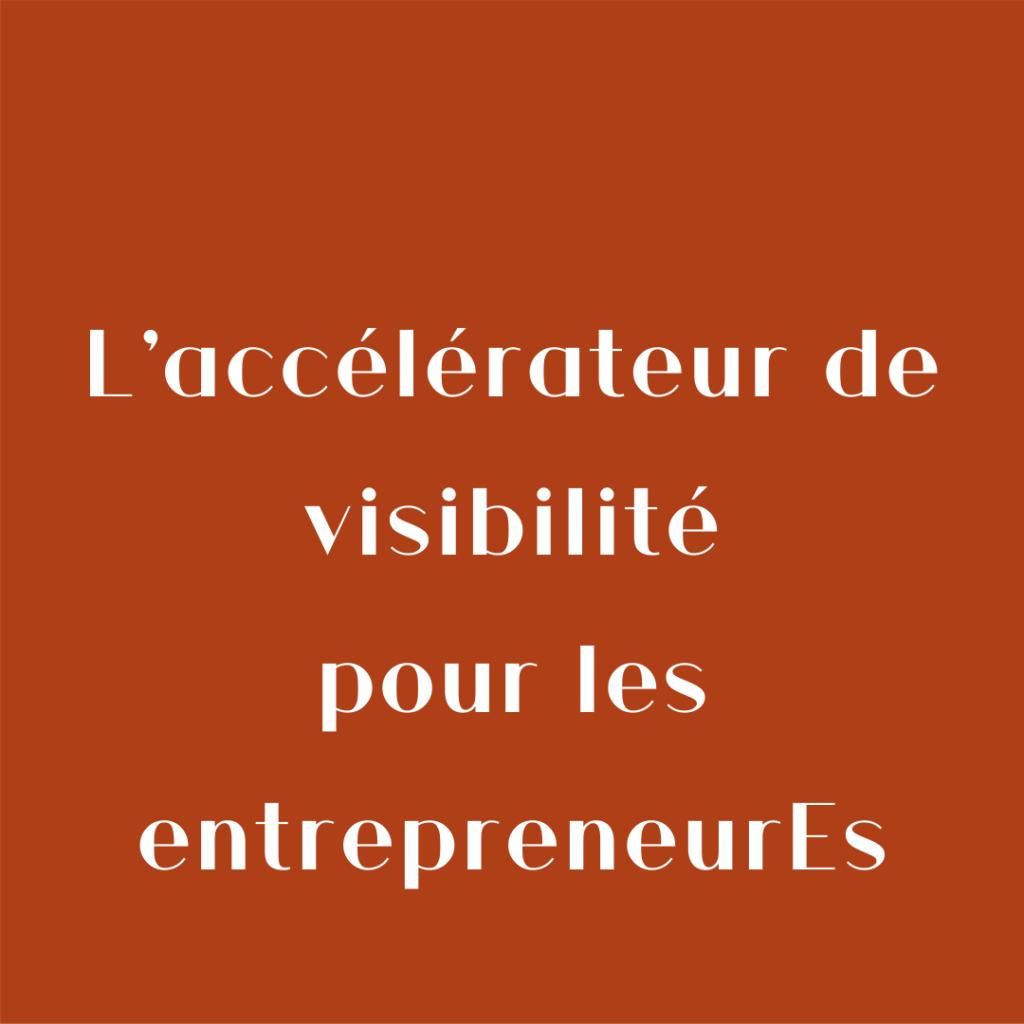 Ma Marque, Ma Com', l'accélérateur de visibilité pour les entrepreneurEs